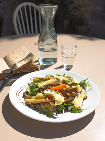 Castle Cary, UK: root salad