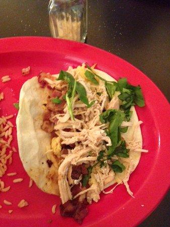 Staunton, VA: Smoked Gouda Taco