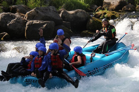Rafting on White Salmon River