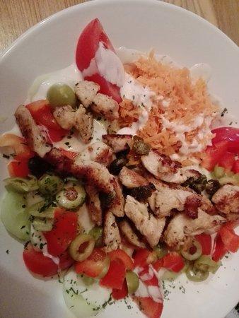 Oberrot, Deutschland: Salat nach Art des Hauses