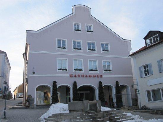 Waldkirchen, Deutschland: Aussenansicht im Januar