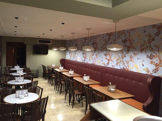 Restaurante cafe venecia en santiago de compostela con cocina otras cocinas - Muebles de cocina santiago de compostela ...