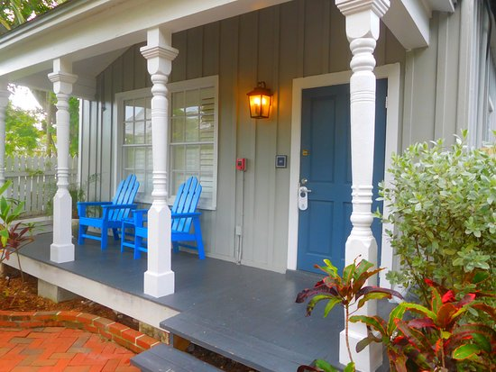 Lighthouse Court Hotel in Key West: H1, great spot