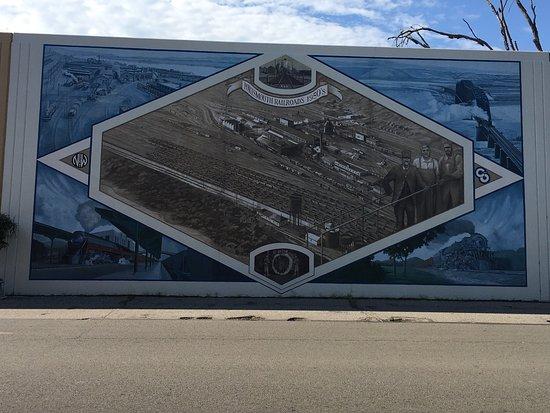 Πόρτσμουθ, Οχάιο: This place is amazing. I was lucky enough to have a local stop and talk to me. He walked the wal