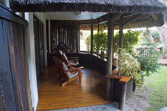 Saint Francis Bay, Sudafrica: Our balcony overlooking the pool