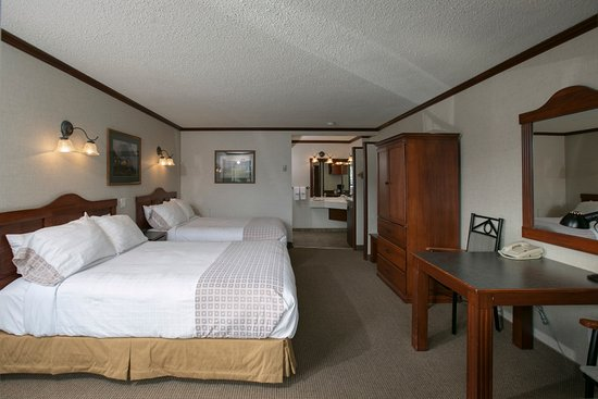 Mount Robson Inn: Standard Two Queen Guest Room