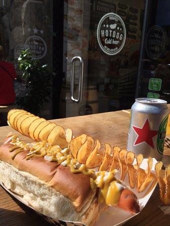 Hot Dog Cold Beer Budapest Menu