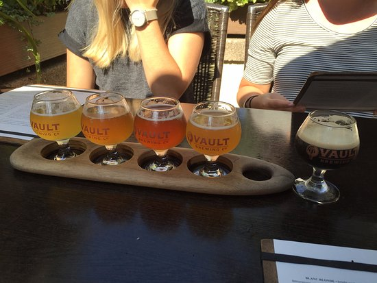 Yardley, Pensilvanya: Beer sampler