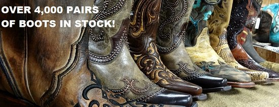 Wayland, MI: OVER 4,000 PAIR OF COWBOY BOOTS IN STOCK!