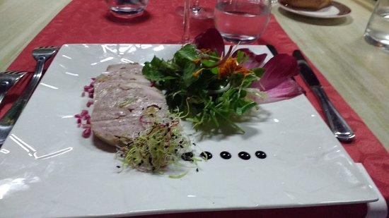 Le Moulin Fleuri: St Martin menu
