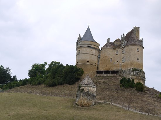 Beaumont-du-Perigord, France: Het kasteel