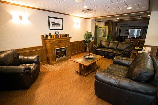 Drayton Valley, Canada: Lobby