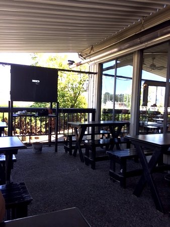 Ladner, Kanada: Outdoor Patio