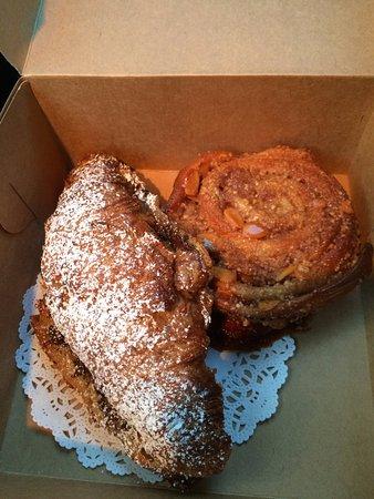 Alton, IL: Chocolate croissant and the gosen!  You need the gosen.