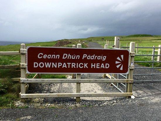 Ballycastle, أيرلندا: cancello d'ingresso