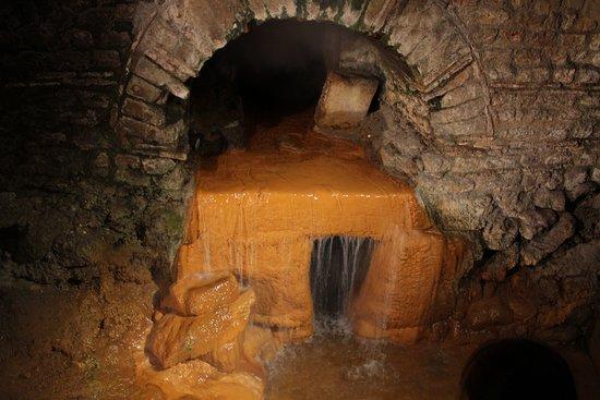 The hot spring run-off