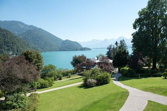 Parkhotel Billroth: Ausblick Terrasse