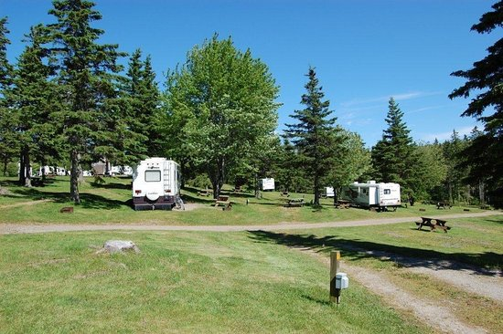 baddeck cabot trail campground updated 2019 reviews nova scotia rh tripadvisor com