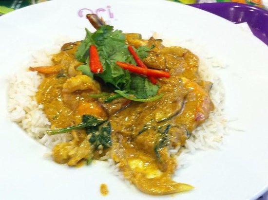Ori asian food caril de gambas photo de ori asian food for Accord asian cuisine