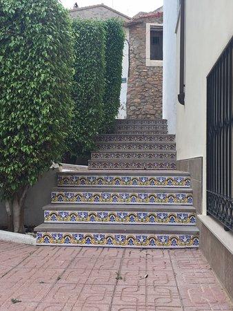 Casa Arizo: Spanish steps...