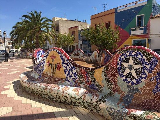 Casa Arizo: Gorgeous colours!