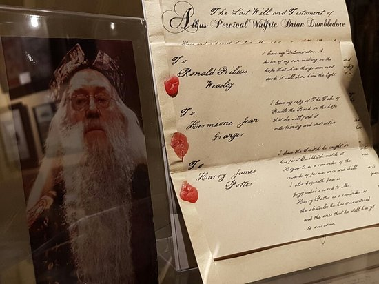 Vulcan, Canada: Last Will & Testament of Professor Dumbledore.   More than just Star Trek artifacts to be seen!