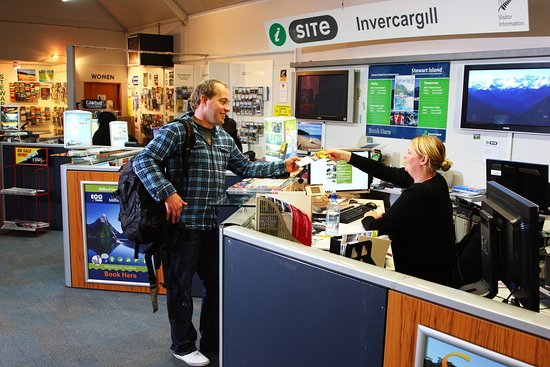 ‪Invercargill i-SITE Visitor Information Centre‬