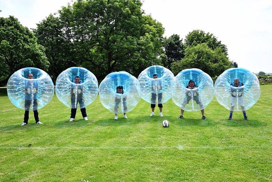 Brackley, UK: Zorb Football