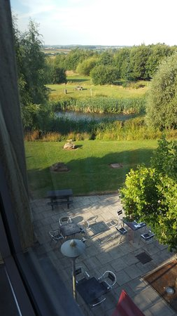 Diseworth, UK: View from hotel room
