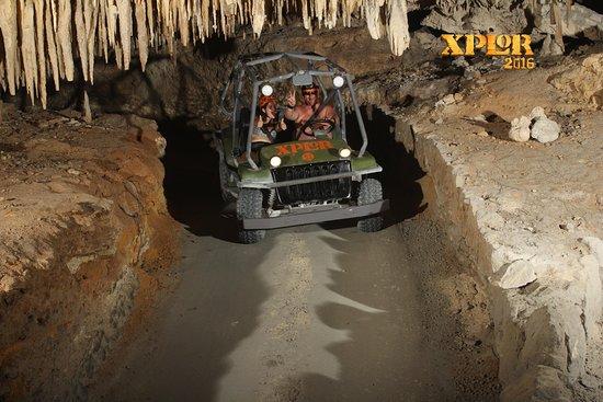 Dune Buggy tunnel et cavernes