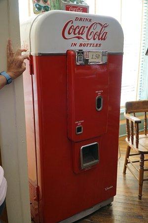 Distributeur Coca