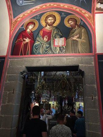 Spectacular icons, sanctuaries, and frescos