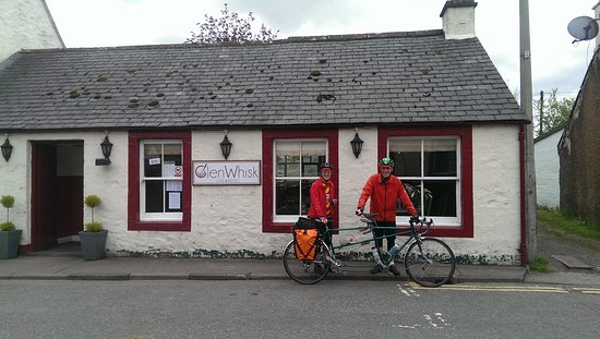Moniaive, UK: Cyclists