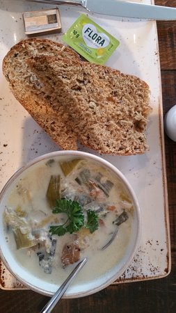 This is the Cullen Skink just before I got wired into it.