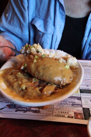 Prudenville, MI: Lunch Egg Foo Yung