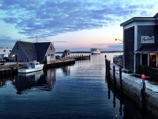 Woods Hole is known for it's large harbor with many boats including ferries to Martha's Vineyard