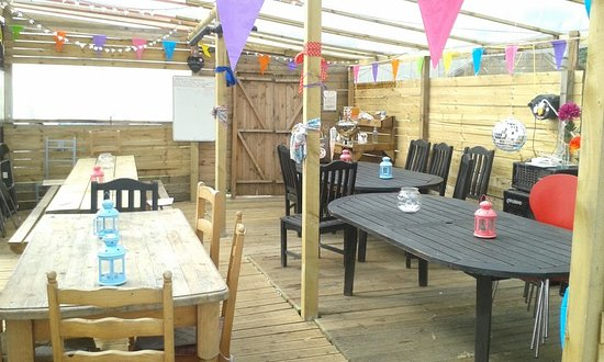 Arley, UK: GLAMPING HEN PARTY VENUE