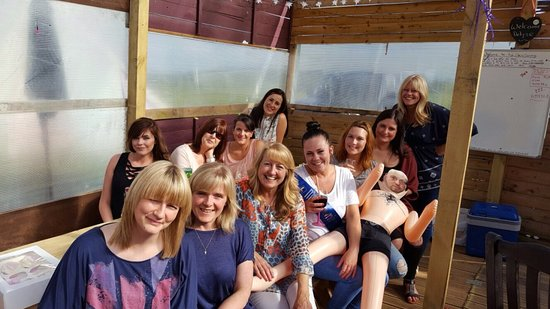 Arley, UK: Glamping hen party