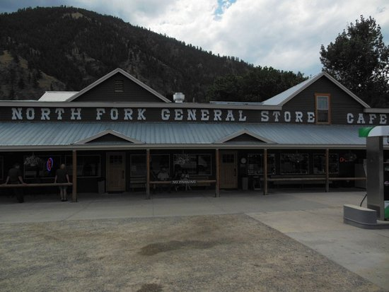 North Fork, ID: Store, cafe, gas, Post Office