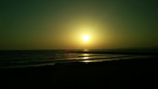 Great foodnand beautiful sunset spot