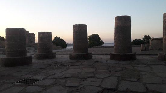 A Vista do Templo de Kom Ombo
