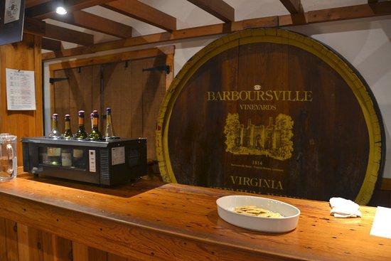 Barboursville, VA: white wines