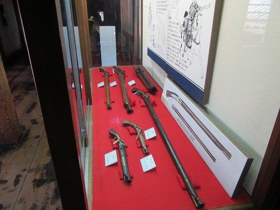 銃の展示の数々