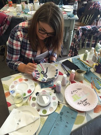 Hen Party Pottery Class