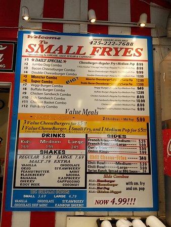 Fall City, WA: Small Fryes