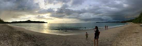 A pano of the beach area.