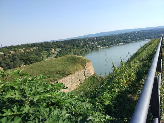 Danube view from the fortress