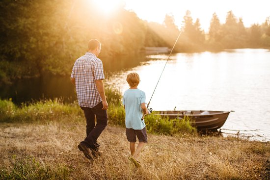 Montesano, วอชิงตัน: Fishing on Lake Quigg