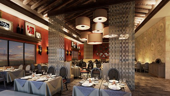 Bordeaux French Restaurant At Dreams Dominicus La Romana