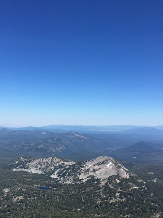 Drakesbad Guest Ranch: Top of Mt. Lassen